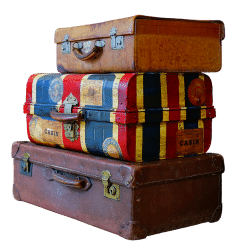 Пренасяне на багаж корица