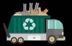 извозване на строителни отпадъци корица